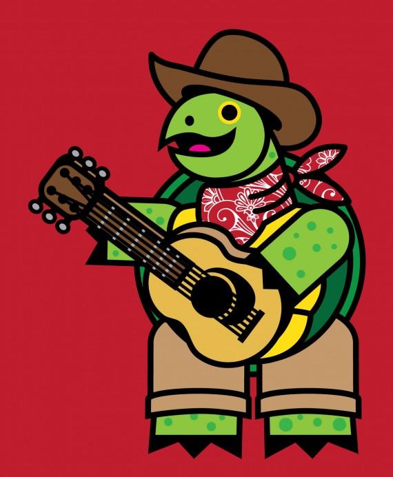 Cowboy-Tortoise